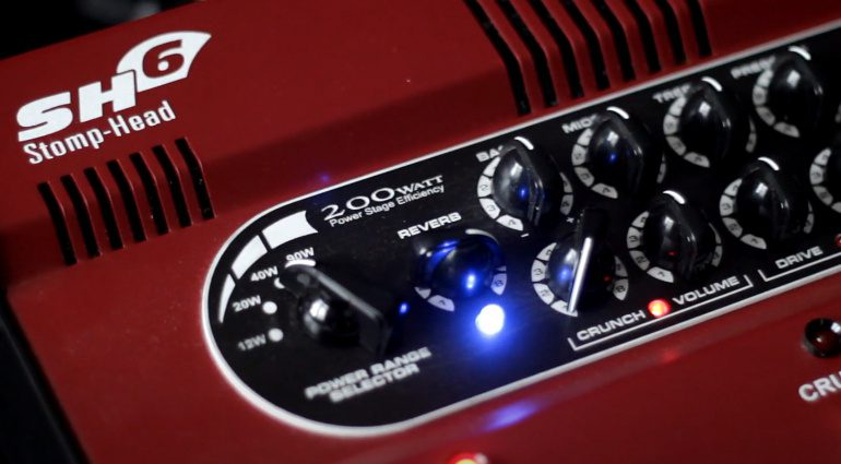 Taurus Stomp-Head 6CE Amp Pedal Front Teaser