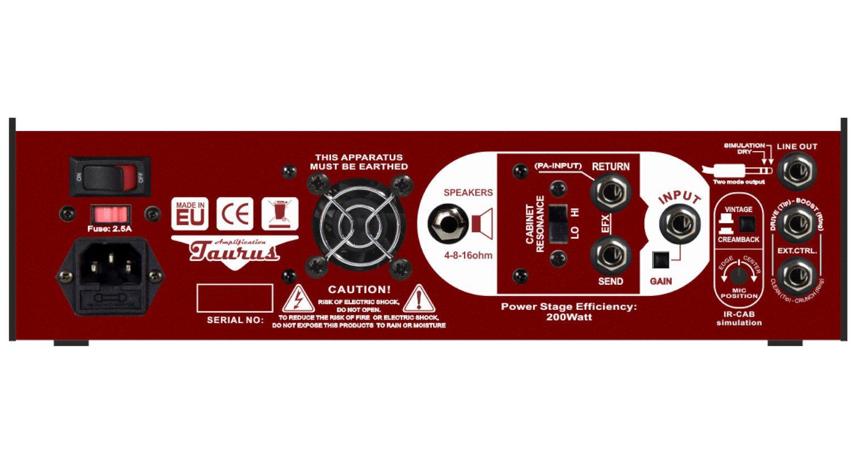 Taurus Stomp-Head 6CE Amp Pedal Rueckseite
