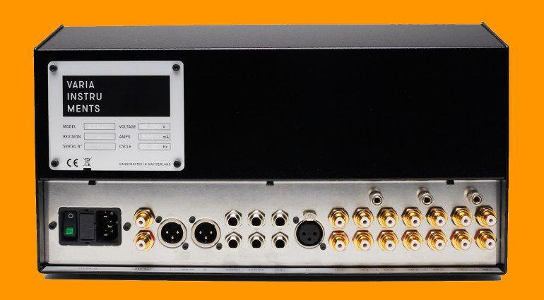 Varia Instruments RDM40: edel, spacig und Rotary-Mixer
