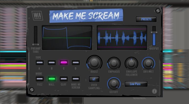 W.A. Production Make Me Scream: Multimode Distortion mit Envelope Follower für unter 6 Euro