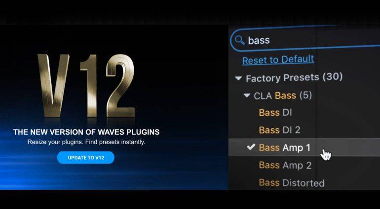 Waves V12 Update
