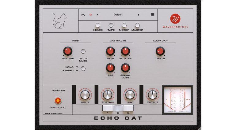 Wavesfactory Echo Cat: eine originalgetreue Copicat Tape Delay Emulation