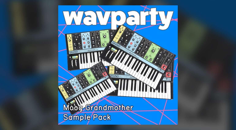 wavparty Moog Grandmother Sample Pack