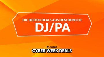 Thomann Cyber Week: Top Deals aus dem Bereich DJ und PA/Live