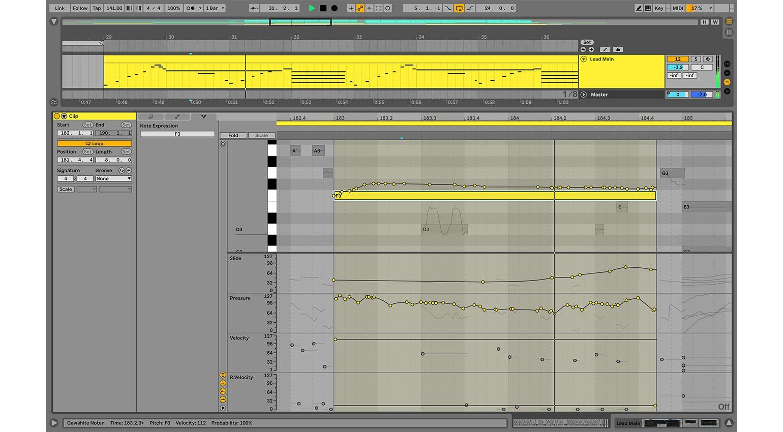 Ableton Live 11: MPE