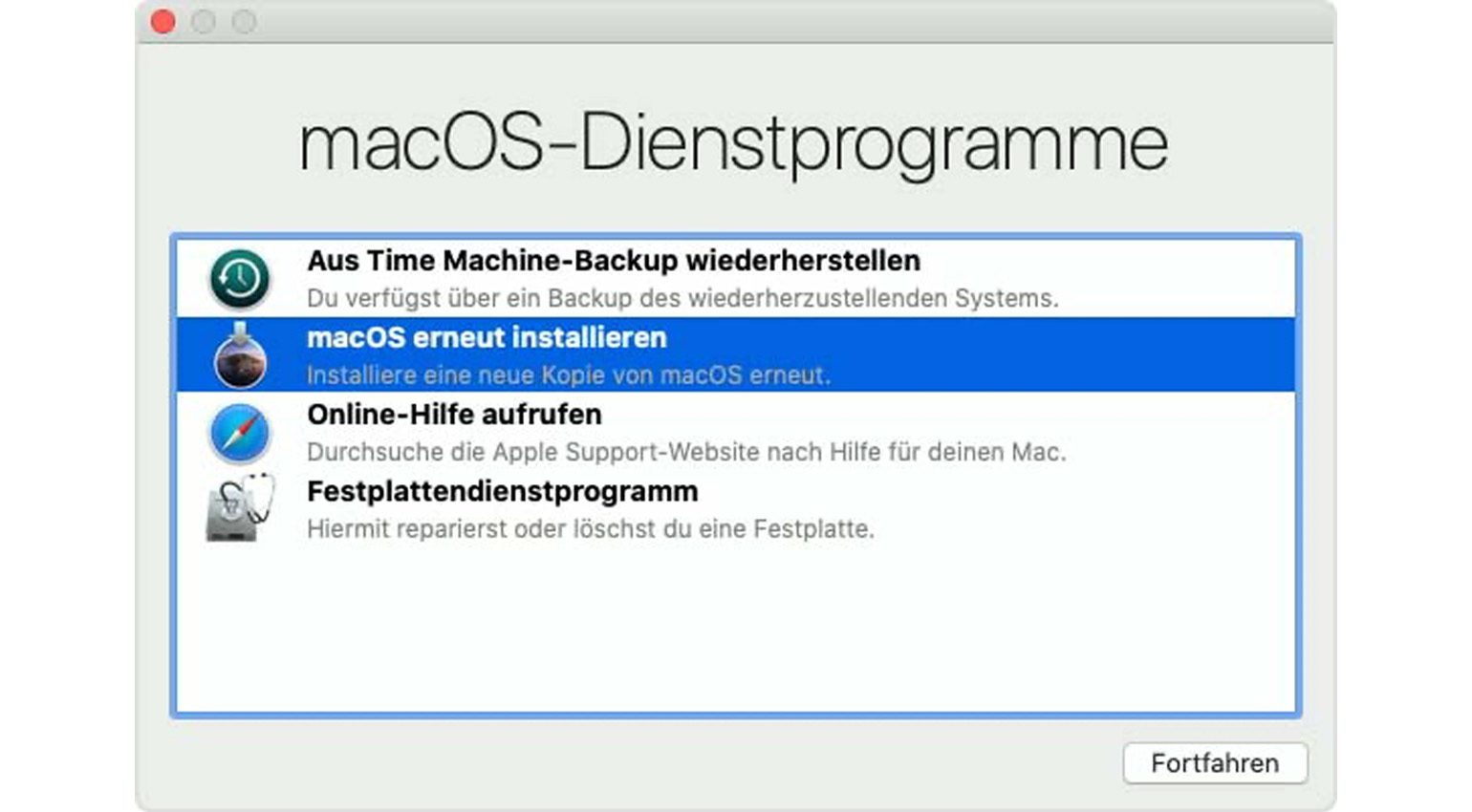 Apple macOS Recovery
