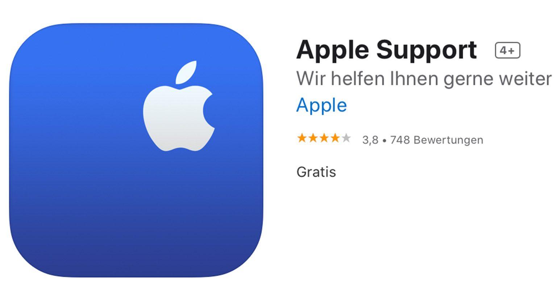 Apple Support iOS App