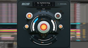 DJ Swivel BDE: Multi-Distortion Effekt-Plug-in mit regelbarer Dynamik