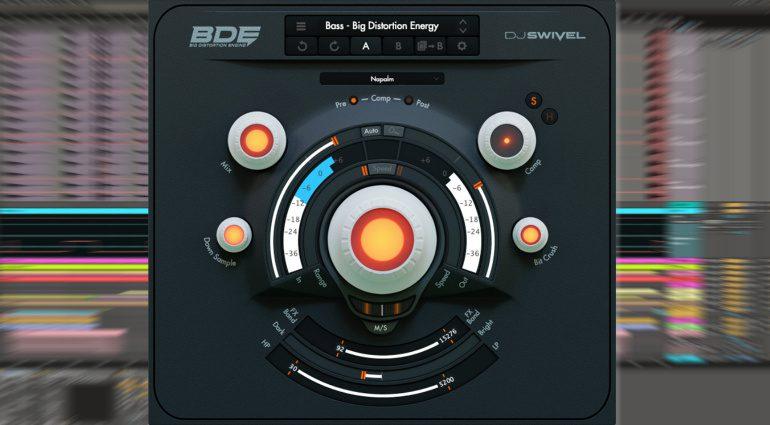 DJ Swivel BDE: Multi-Distortion Effekt-Plug-in mit regelbarer Dynamik