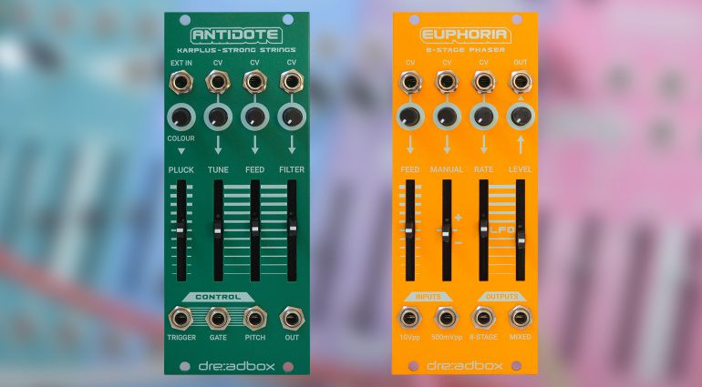 Dreadbox Antidote und Euphoria