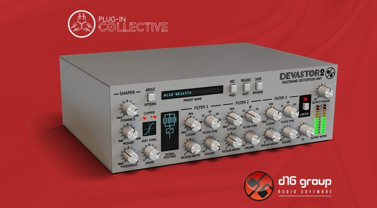 Focusrite Plug-in Collective verschenkt D16 Devastor 2 Plug-in und weitere Rabatte