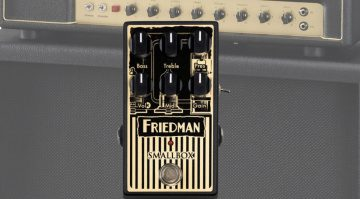 Friedman Smallbox Overdrive Effekt Pedal Front