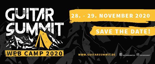 Guitar Summit Webcamp 2020 Banner