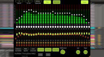 HoRNet ThirtyOne MK2: Spektrum Analyse mit automatischem Equalizer für 21€