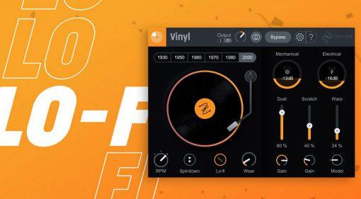 Kostenlos: iZotope Vinyl wird neu und bleibt kostenlos!