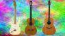Jimi Hendrix Bob Marley Fender Stratocaster Ovation Akustikgitarre Teaser