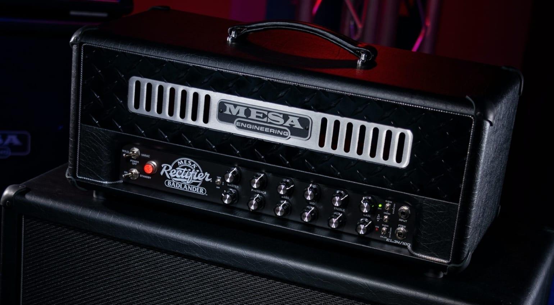 Mesa Boogie Badlander Topteil Front 1