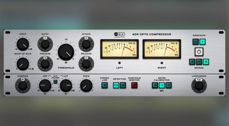 MIA Laboratories veröffentlicht das 409 Opto Compressor Plug-in