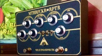 Mile End Effects MTHRFCKR RPTR Tape Delay Effekt Pedal
