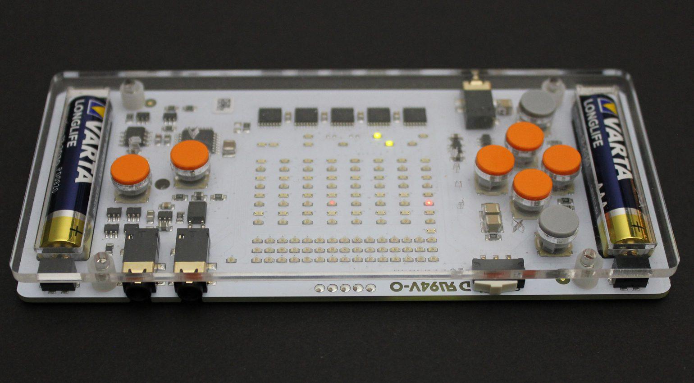 MIDI Ein- und Ausgang am nanoloop FM