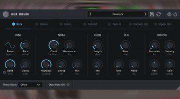 Oblivion Sound Lab Hex Drum: ein Simmons SDS Drum Machine Plug-in für 29$
