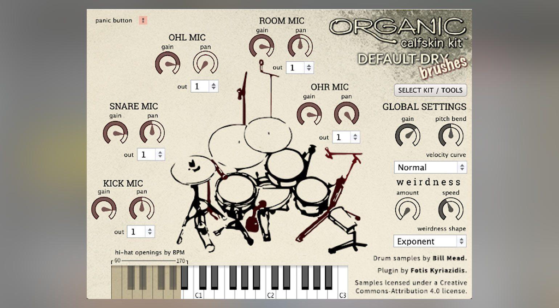 Organic Drum Loops Organic Calfskin Kit