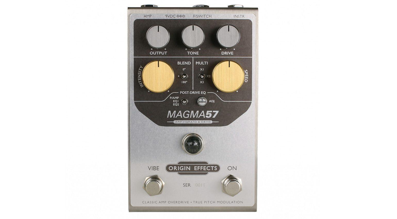 Origin Effects MAGMA57 Magnatone Effekt Pedal Front