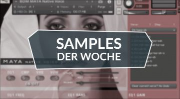 Samples der Woche: Postcard Piano, Native Voice Maya, Gorilla Bass