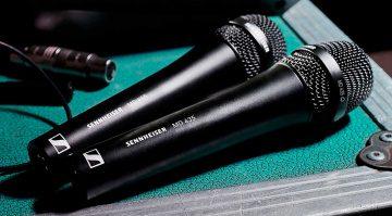 Sennheiser MD 435 und MD 445 Gesangsmikrofone
