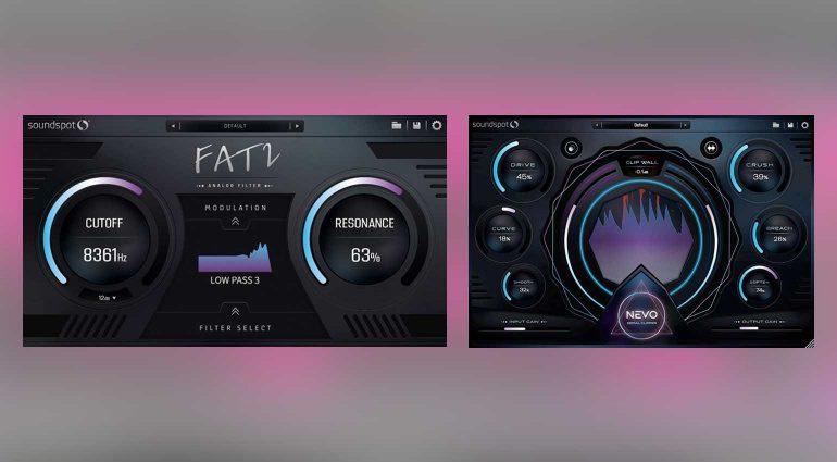 SoundSpot FAT 2 Filter und NEVO Clipper