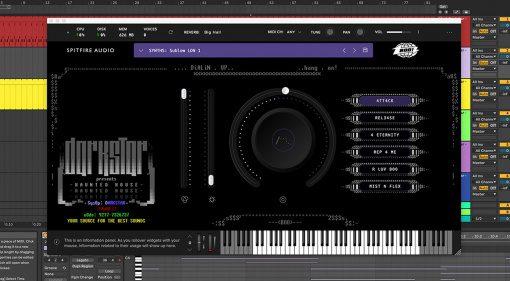 Spitfire Audio Darkstar - Haunted House: interessantes VST-Instrument für 29€
