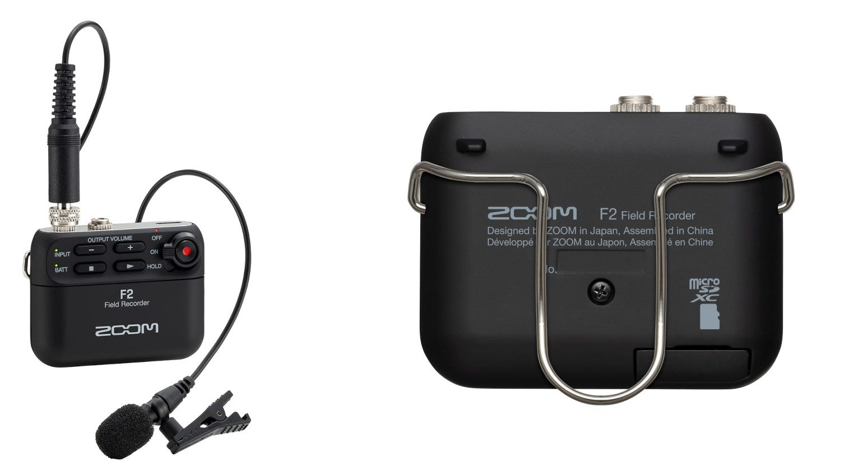 Zoom F2 Lavalier Klammer