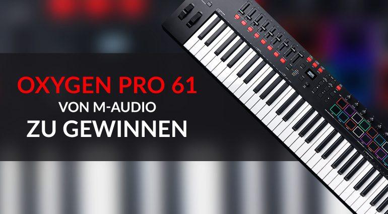 MegaXMAS Gewinnspiel M-Audio Oxygen Pro 61