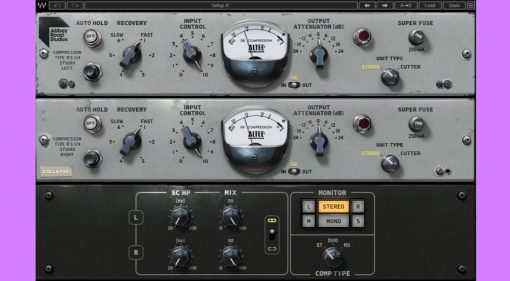 Waves Abbey Road RS124 Tube Compressor: Noch mehr Altec für dein Geld!