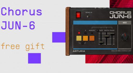 Kostenlos: Arturia verschenkt Chorus JUN-6