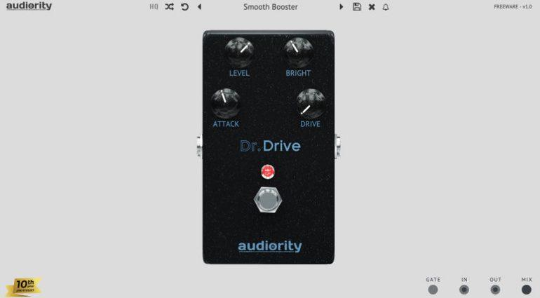 Kostenlos: Audiority verschenkt Dr. Drive - eine analoge Pedal-Emulation
