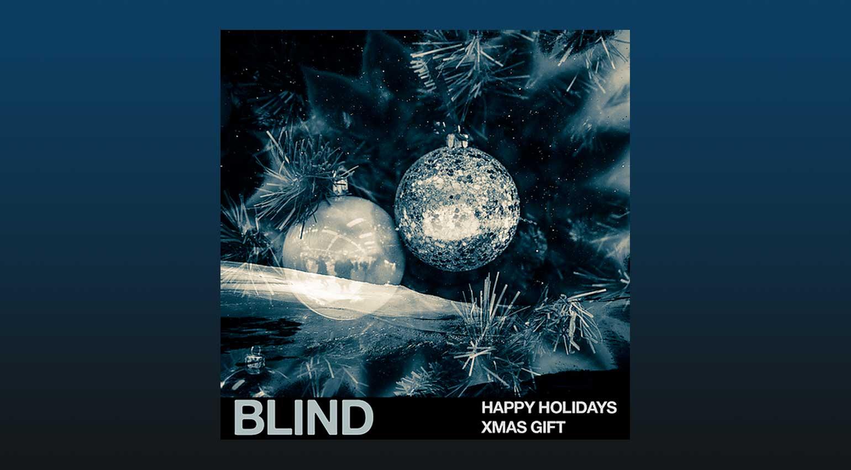 Blind Audio Happy Holidays XMAS Gift