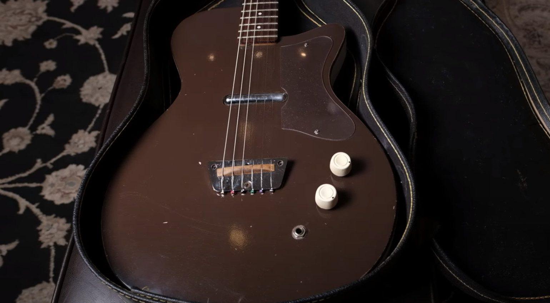 Danelectro Silvertone Gitarre 1