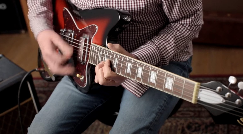 Danelectro Silvertone Gitarre 2