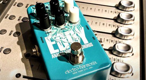 Electro Harmonix Eddy Chorus Vibrato Modulation Effekt Pedal 1