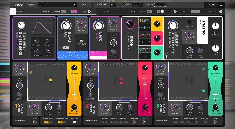 Expressive E Noisy: Synthesizer trifft akustische Instrumente mit Resonanz