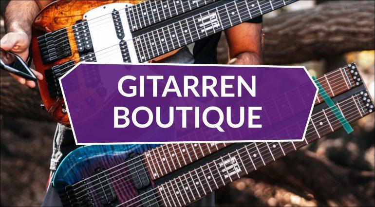 Gitarren Boutique 4 Double Neck Tapping FM Guitars