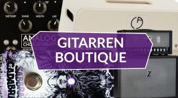 Gitarren Boutique Teaser 2 Catalinbread Billy Corgan Mr Black Dr Z