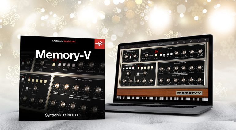 Kostenlos: IK Multimedia verschenkt Syntronik Memory-V Software Plug-in
