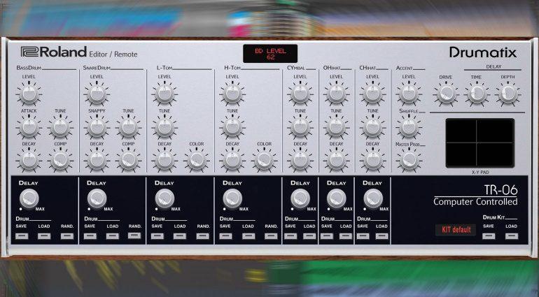 Momo Müller veröffentlicht Roland TR-06 Midi Editor & Controller