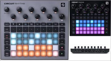 Novation Circuit Tracks Rhythm