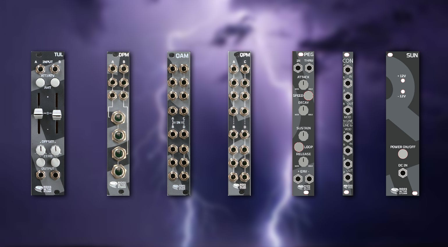 Rides in the Storm Eurorack-Module