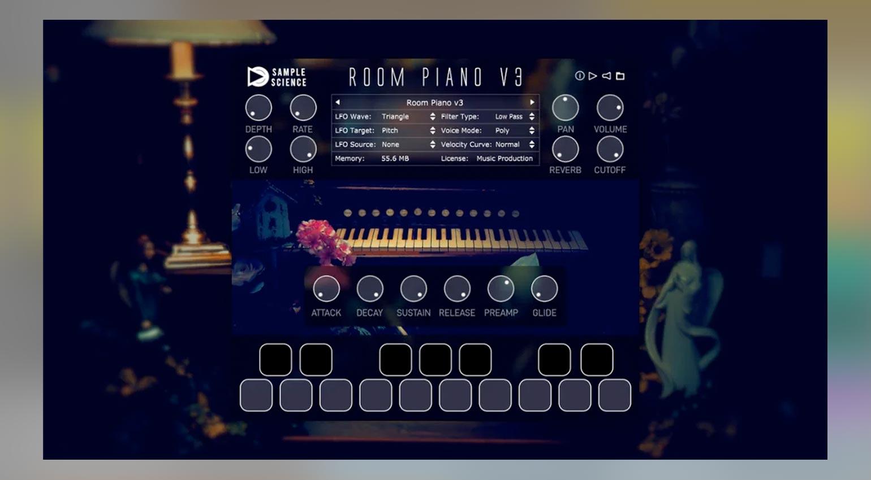 SampleScience Room Piano v3