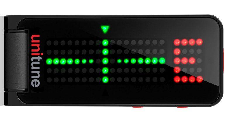 TC Electronic UniTune Clip Noir Front