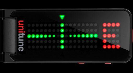 TC Electronic UniTune Clip Noir Front Teaser